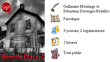 Murder party - Beverly Place 2
